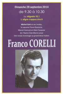 Affiche Corelli