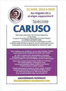Affiche CARUSO