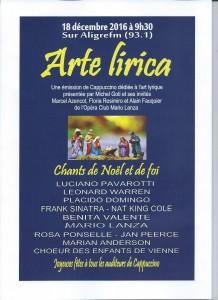 Affi Arte lirica du 18 déc 2016