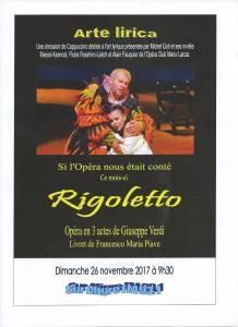 Affiche Rigoletto portrait