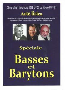 Basses et barytons-portrait