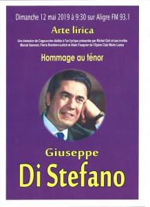 Affiche Di Sefano-portrait