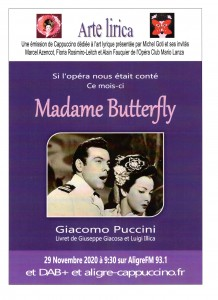 Affiche Butterfly Nov.2020