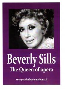 Affiche Beverly SILLS