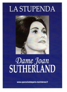 Affiche Joan Sutherland