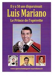 Affiche Luis MARIANO