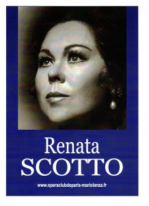 Affiche Renata SCOTTO